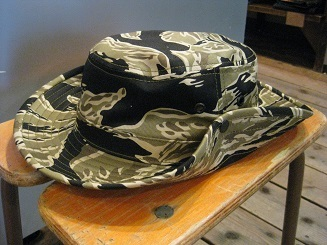 THE REAL McCOY`S/TIGER TEN-GALLON HAT
