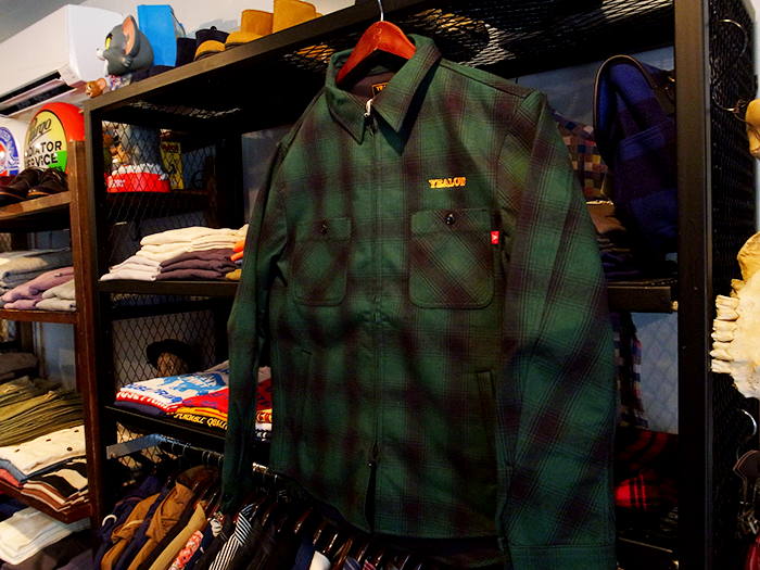 YEALOW イエロー CHECK SHIRTS JACKET(31306)