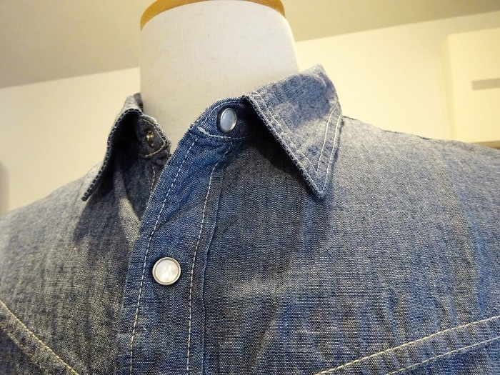 TCB jeans(ティーシービージーンズ) RANCHMAN Shirt CHAMBRAY