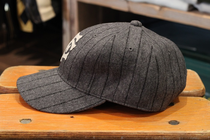FULLCOUNT(フルカウント) WOOL STRIPE 6PANEL CAP 6868