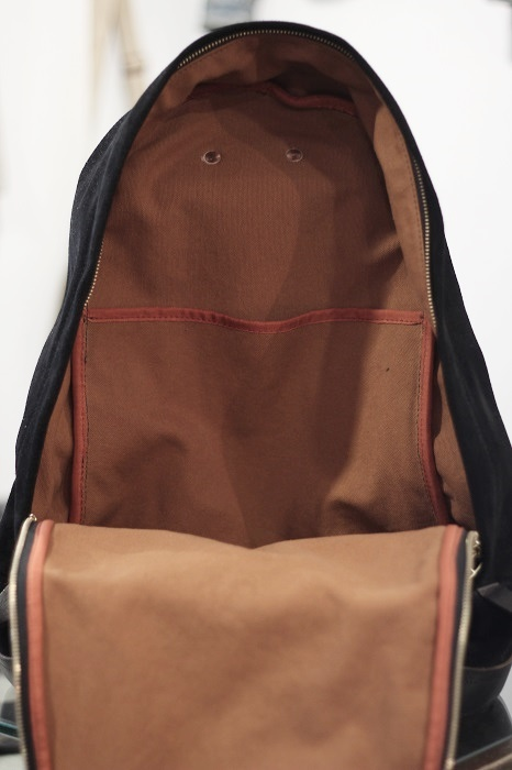 VASCO(バスコ/ヴァスコ) SUEDE×LEATHER OLD DAY PACK VSE-202B