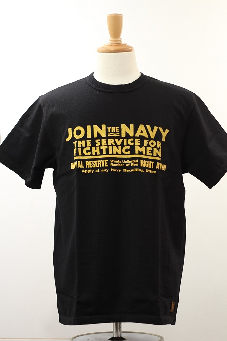 "DELUXE WARE(デラックスウエア) プリントT""JOIN NAVY"" SDL-1901"
