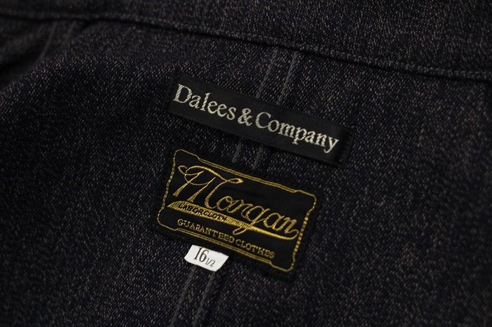 """DALEE'S&CO(ダリーズ&コー) 10s SACK JACKT """"TICK"""""""