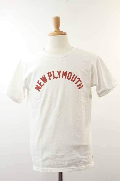 """DELUXE WARE(デラックスウエア) プリントT""""NEW PLYMOUTH"""" MT-2002"""