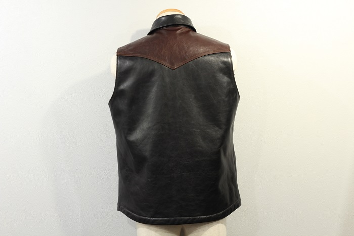 DELUXEWARE(デラックウエア) ALL HORSE HIDE VEST D-16SP