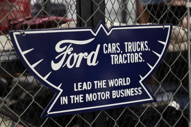 Another Life(アナザーライフ) FORD WING SIGN REPRODUCTION RE001431