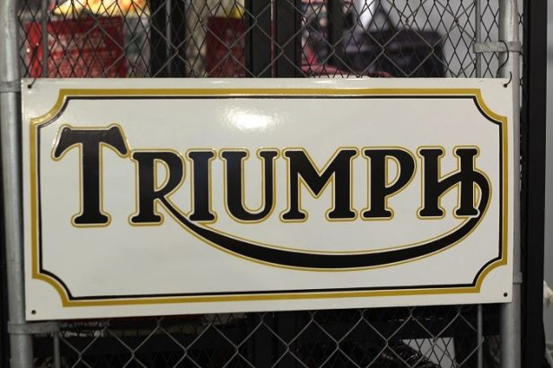 Another Life(アナザーライフ) TRIUMPH SIGN REPRODUCTION RE001442