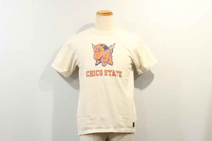 """DELUXE WARE(デラックスウエア) プリントT""""CHICO STATE"""" SDL-2101"""